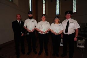 Members of the St Johns Ambulance
