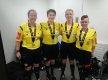 Women's Senior Cup Final Officials 2015