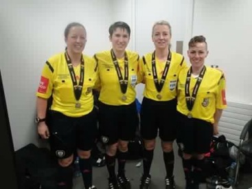 Women's Senior Cup Final Officials 2015