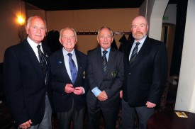 Paddy Byrne, Bobby Lynch, John Scanlon and Terry McParland
